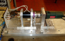 High-Speed motor test bench